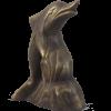 Delfin kerti figura