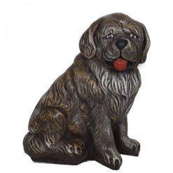Kutya kerti figura - ülő kutya