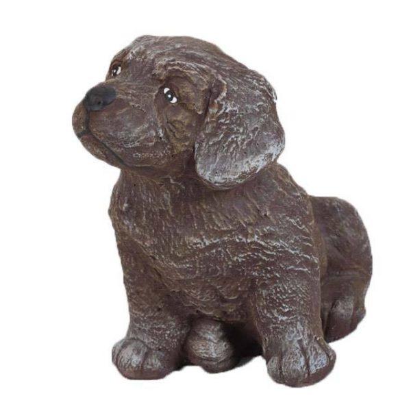 Kutya kerti figura - kicsi kutya