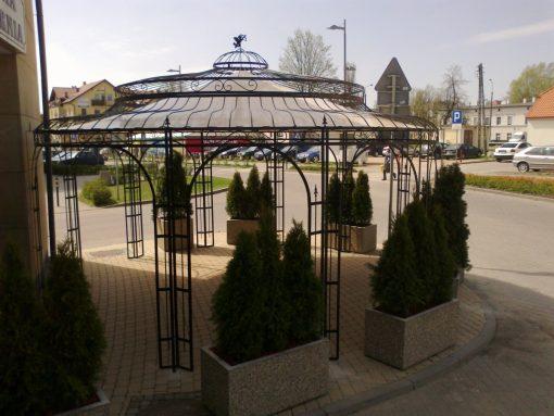 holland kerti pavilon eloter