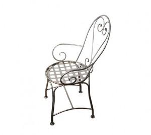 kovácsoltvas kerti szék